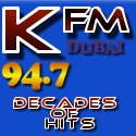 Kfmuae Decades Of Hits logo