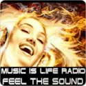 visit radio station web site - Music is Life Radio streaming internet radio station