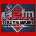 visit radio station web site - Radio H2FM Malang streaming internet radio station