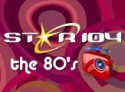Star104 The 80s Channel logo