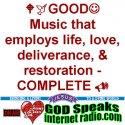 visit radio station web site - God Speaks Internet Radio Powered By The Holy Spirit streaming internet radio station