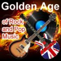 The Golden Age of Rock and Pop logo