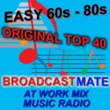BROADCASTMATE ORIGINAL TOP 40 MUSIC RADIO logo