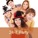 24 7 Pop Party logo