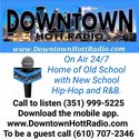 Downtown Hott Radio logo