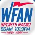WFAN Yankees Baseball Radio 66AM logo