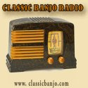 visit radio station web site - Classic Banjo Radio streaming internet radio station