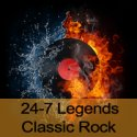 24 7 Legends Classic Rock logo