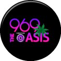 96.9 The Oasis logo
